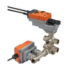 6ти-ходовой клапан Belimo EP015R-R6+BAC, Dn15, Pn16