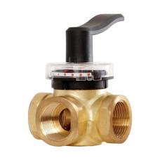 3-х ходовой клапан Danfoss HRB3, Dn32, Pn10