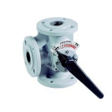 Поворотный клапан Honeywell DR40GFLA, Dn40, Pn6