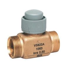 2-х ходовой клапан Honeywell V5822A1048, Dn15, Pn16